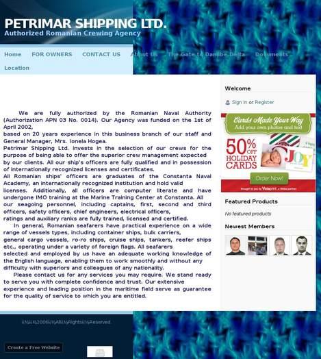 Petrimar Shipping SRL Tulcea
